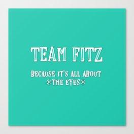 Team Fitz Canvas Print