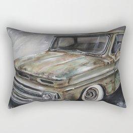 Crossroads Chevy Rectangular Pillow