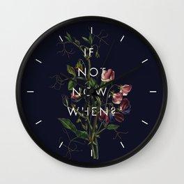 The Theory of Self-Actualization III Wall Clock