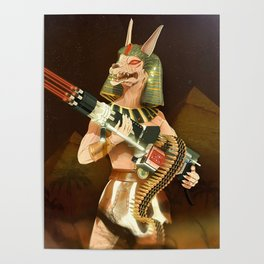 No peace with Anubis Poster