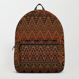 Autumn Chevrons Backpack