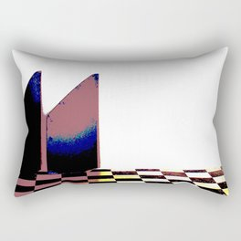 Two Towers Rectangular Pillow