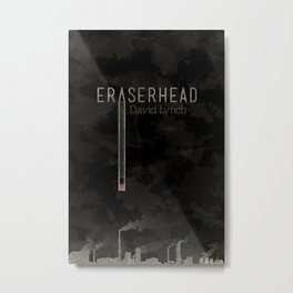 Eraserhead Metal Print