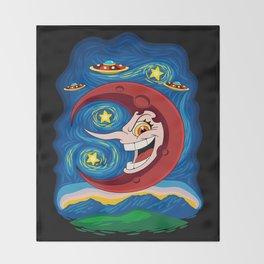 Hilda Berg - Starry Night Throw Blanket