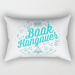 Book Hangover (Cyan) Rectangular Pillow