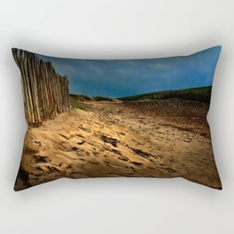 Bantham Beach Exit Rectangular Pillow