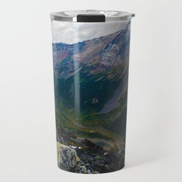 Down in the Valley, Pyramid Mt in Jasper National Park, Canada Travel Mug