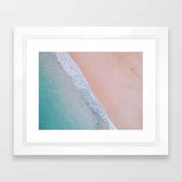 pink sands ii Framed Art Print