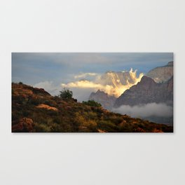 Dream Clouds Zion National Park Canvas Print