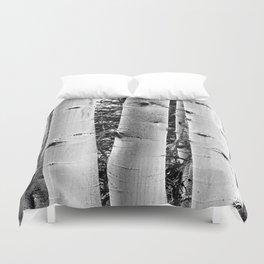 Three Aspens Black & White Duvet Cover