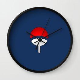 uchiha logo Wall Clock
