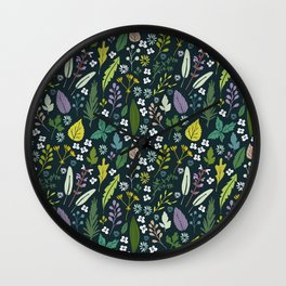 Herbal dream Wall Clock