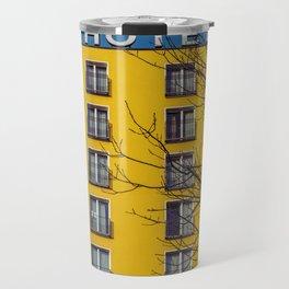 Hotel and yellow Travel Mug