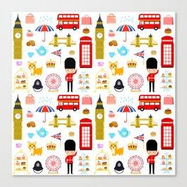 Enjoy London! Canvas Print