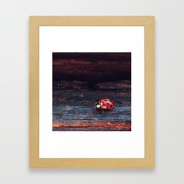 Lovely Lady Framed Art Print