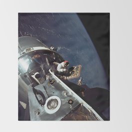Apollo 9 - Spacewalk Throw Blanket