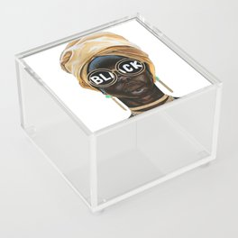 Black Woman Acrylic Box