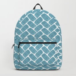 Funny print with watercolor scribbles Backpack