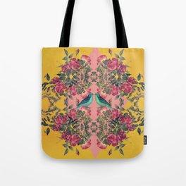 Love Birds II (yellow version) Tote Bag