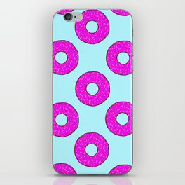 Donut give up iPhone Skin