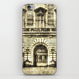 Buckingham Palace London Vintage iPhone Skin