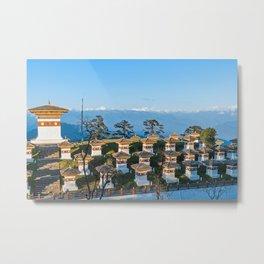 Bhutan: Sunset on Dochula Pass Metal Print