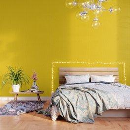 Honeycomb yellow and white pattern Wallpaper
