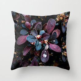 Barberry Adorned Throw Pillow