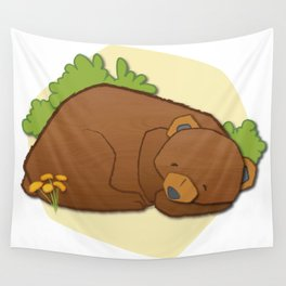 Sleeping Bear Wall Tapestry