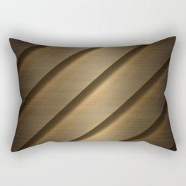 Copper Brass Metal Pipe Rectangular Pillow