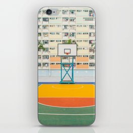 BASKETBALL COURT iPhone Skin