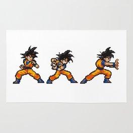 Son Goku 孫 悟空 Kamehameha Bit Rug