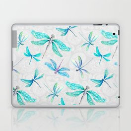 Dragonflies on Paisley Laptop & iPad Skin