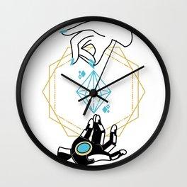 Symmetra Tarot Wall Clock