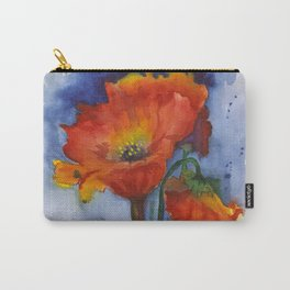 Flowers  Emerged Carry-All Pouch