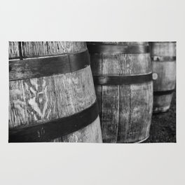 Wine Barrels in San Luis Obispo Rug