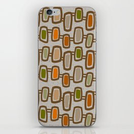 Dangling Rectangles Mid-Century iPhone Skin