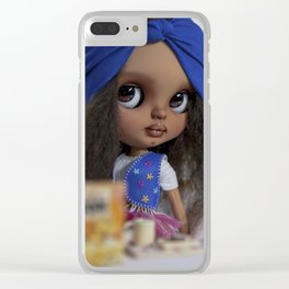 BREAKTST WITH KALIE Clear iPhone Case