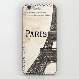 Paris Ooh La La 1 iPhone Skin