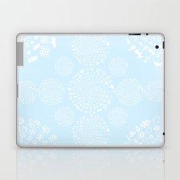 Snow & Ice Love Symbol Mandala Laptop & iPad Skin