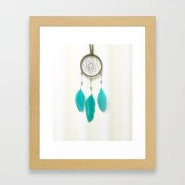 Turquoise Dreamer Framed Art Print