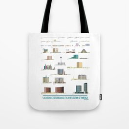 Vegas: The Strip Tote Bag