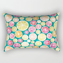 Citrus bath Rectangular Pillow
