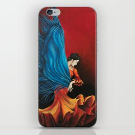 Spanish Flamenco Dancer iPhone Skin