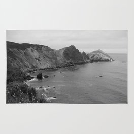 A Summer Drive Along Highway One in California Rug