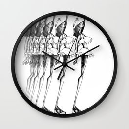 Sun Tan Mirage Wall Clock