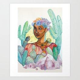 Madre Del Desierto Art Print