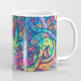 Trippy Weed Coffee Mug