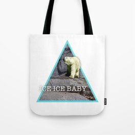 Ice cold bear Tote Bag