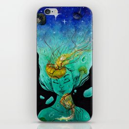 Floating iPhone Skin